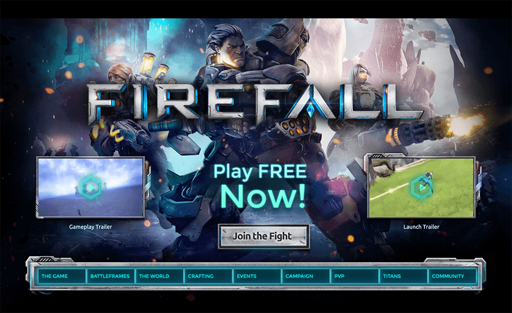 Firefall by Red 5 Studios